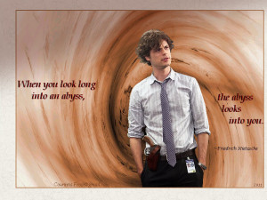 Dr. Spencer Reid the abyss