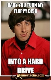 Howard Wolowitz is such the perv! but I love him :)