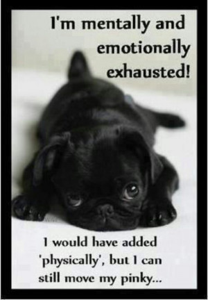 Emotionally exhausted