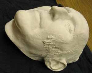 Four angle-shots of the Death Mask of William Lloyd Garrison. (Click ...