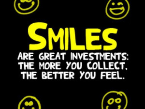 Smile, it makes a difference