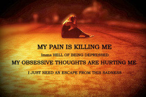 My pain is killing me