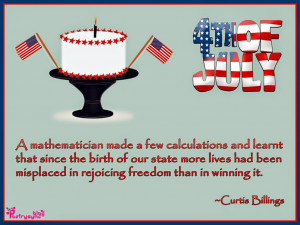 mathematician made a few calculations and learnt that since the ...