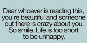 Inspirational Monday: You are beautiful!