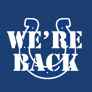 Indianapolis Colts 2010-2011 'We're Back' Tee
