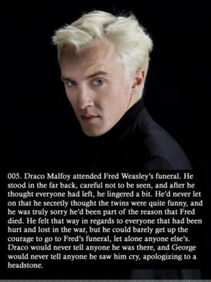Draco Malfoy Feels
