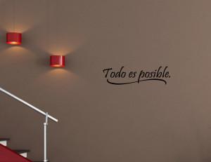 Funny Spanish Quotes In Spanish Spanish vinyl wall quotes