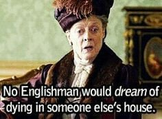 crawley more downton abbey quotes violets maggie smith downtown abbey ...