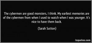 More Sarah Sutton Quotes