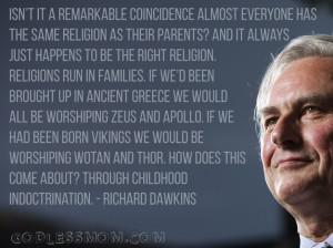 richard dawkins atheist quotes