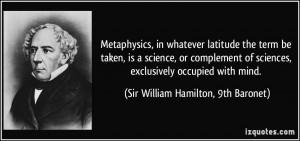More Sir William Hamilton, 9th Baronet Quotes