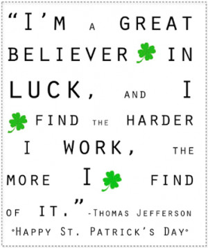 Happy St. Patrick's Day Quotes & Sayings