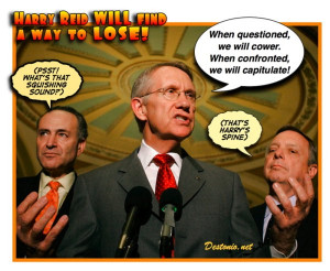 hate to lose a senate seat just to get rid of Spineless HarryReid