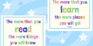 Dr. Seuss Quotes Reading