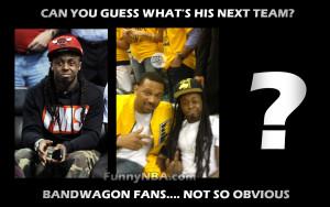 Lil Wayne a TRUE and OBVIOUS BANDWAGON FAN