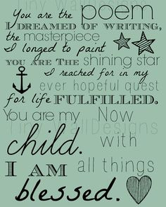 have this quote on a frame with my three children and I in it in my ...