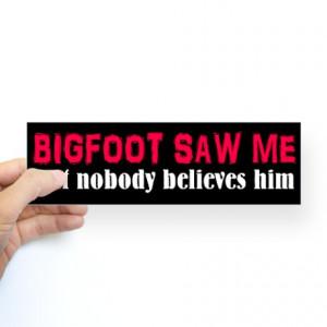 BLOG - Funny Sasquatch Quotes