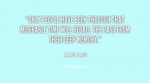 Only people have been through that miserable time will recall the pass ...