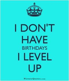 am another year older, wiser, and more grateful.