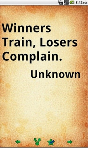 Famous Winning Quotes, Best, Motivational, Sayings, Train