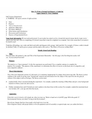 How To Cite Literature In A Lab Report Or Scientific Paper