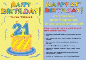 21st Birthday Wishes