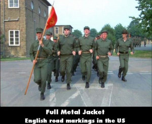 It is an anti war movie featured in England. The mariners jog at the ...