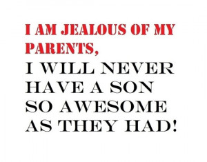 Funny photos funny parents jealous awesome son