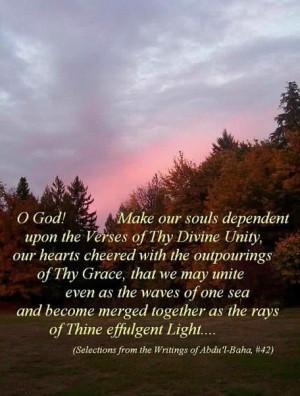 Baha'i Prayers for All Humanity