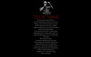 Tech N9ne Love Quotes