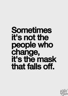 Fake people eventually show their true colors!!! So incredibly ...