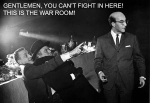 Dr. Strangelove - 50 of the funniest movie quotes ever http://www ...