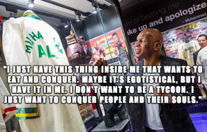 mike tyson quotes i just want to conquer people and their souls mike ...