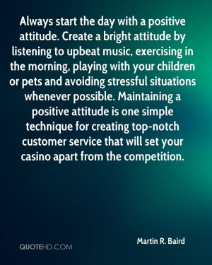 Always start the day with a positive attitude. Create a bright ...