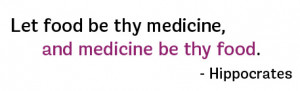 if you ve not heard of this hippocrates quote before