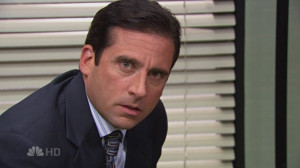 Michael Scott Michael in Fun Run