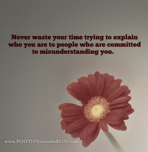 Never Waste : Quotes
