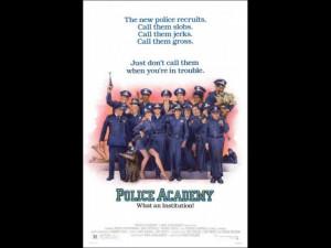 Bailey as Lt. Thaddeus Harris in Police Academy (1984)