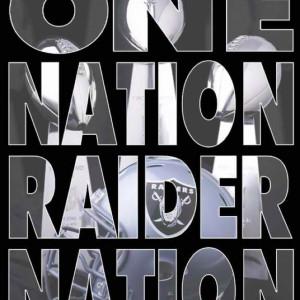 Raider Nation baby!!
