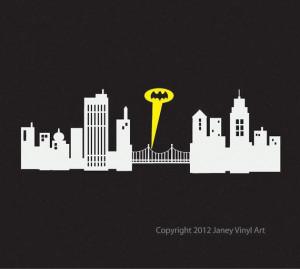 ... .etsy.com/listing/120857339/batman-gotham-city-skyline-cityscape Like