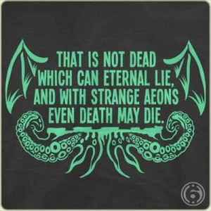 Awesome quote from H.P. Lovecraft