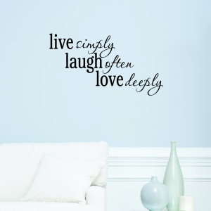 Live Laugh Love Wall Quotes™ Decal