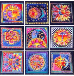 ON SALE - IN STOCK LAUREL BURCH CELESTIAL DREAMS FABRIC PANEL QUILT ...