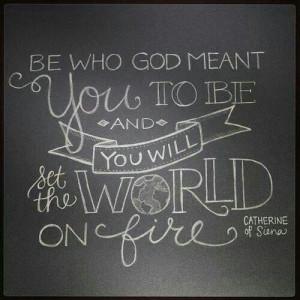 St. Catherine of Siena quote