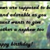 ... wishes for a nephew: Messages, quotes and poems from an aunt or uncle