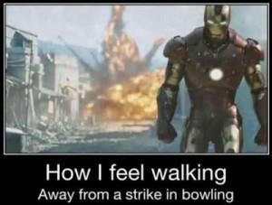 Bowling Strike Power Blaster Iron Man Strike. Funny picture pin board ...