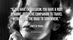 Loretta Young Quote