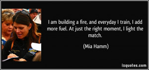 More Mia Hamm Quotes