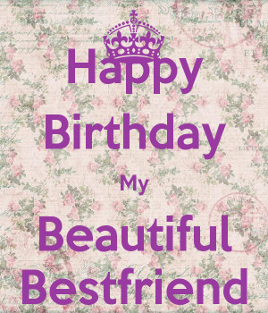 Happy birthday beautiful friend quotes