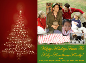 Happy Holidays From The Kelly-Handsome Family!Hey friends and family ...
